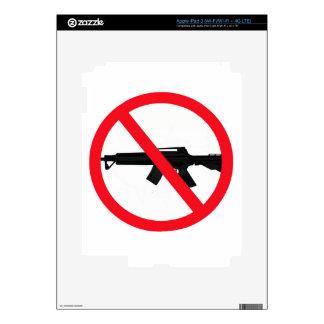 Ban Assault Weapons iPad 3 Skins