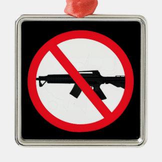 Ban Assault Weapons Metal Ornament