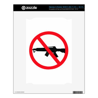 Ban Assault Weapons NOOK Decals