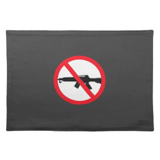 Ban Assault Weapons Placemats