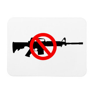 Ban Assault Weapons Vinyl Magnet