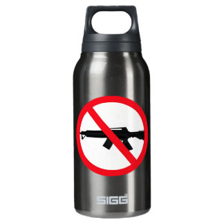 Ban Assault Weapons Thermos Water Bottle