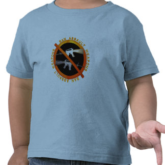 Ban Assult Rifles by Valxart.com T-shirts
