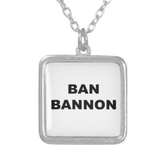 Ban Bannon Silver Plated Necklace