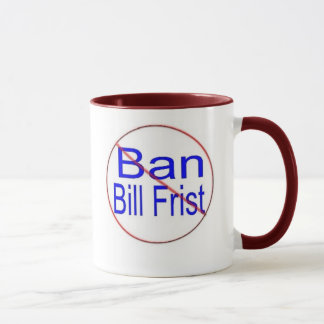 Ban Bill Frist Mug