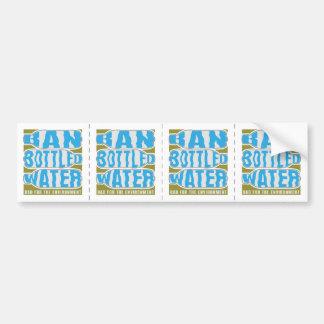 Ban Bottled Water Bumper Stickers