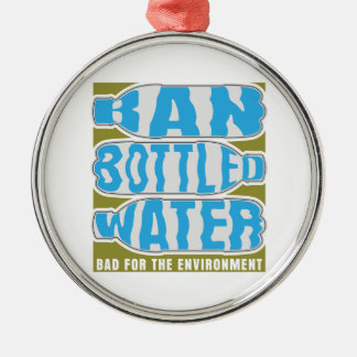 Ban Bottled Water Christmas Ornaments