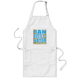 Ban Bottled Water Long Apron