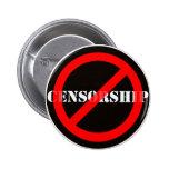 Ban Censorship Pin