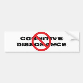 Ban Cognitive Dissonance Bumper Sticker