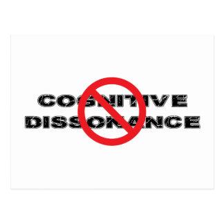 Ban Cognitive Dissonance Postcard