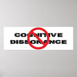 Ban Cognitive Dissonance Poster