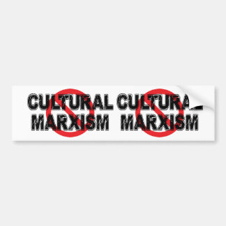 Ban Cultural Marxism Bumper Sticker