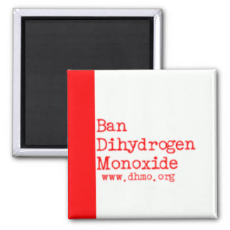 BAN-DHMO 2 INCH SQUARE MAGNET