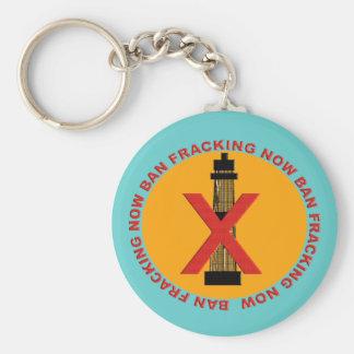 Ban Fracking Key Chains