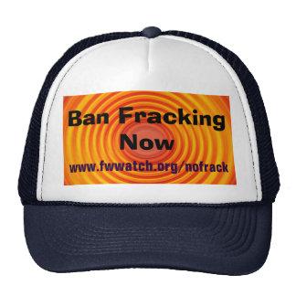 Ban Fracking Now hat