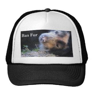 Ban Fur Trucker Hat