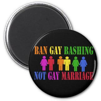 Ban Gay Bashing Magnet