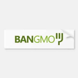 BAN GMO BUMPERSTICKER BUMPER STICKERS