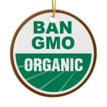 Ban GMO Organic Ceramic Ornament
