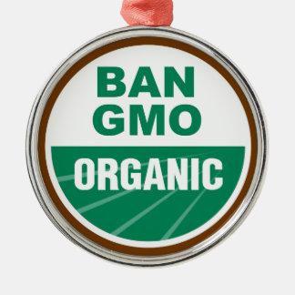 Ban GMO Organic Ornament