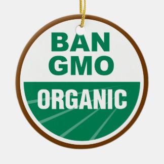 Ban GMO Organic Christmas Tree Ornaments