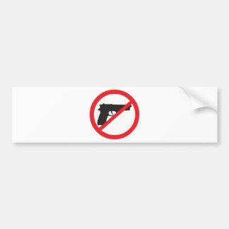 Ban Guns Anti-Gun Pacifist Bumper Sticker