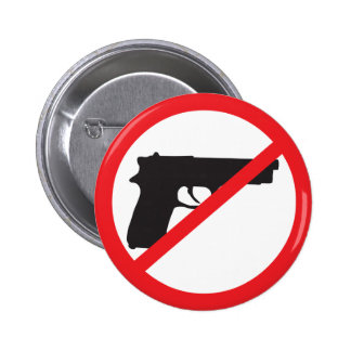 Ban Guns Anti-Gun Pacifist Button