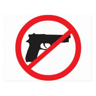 Ban Guns Anti-Gun Pacifist Postcard