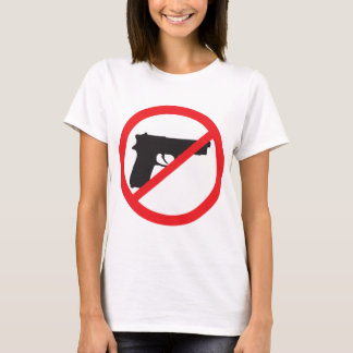 Ban Guns Anti-Gun Pacifist T-Shirt