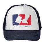 Ban Hammer League Cap to keep the newbies at bay. Mesh Hat