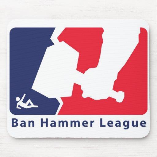 Ban Hammer League Mouse Pad