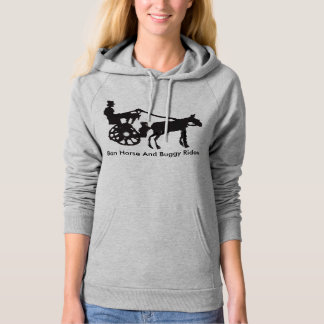 Ban Horse And Buggy Rides Hoodie