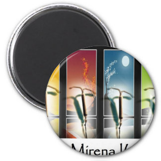 Ban Mirena IUD-Four Seasons 2 Inch Round Magnet
