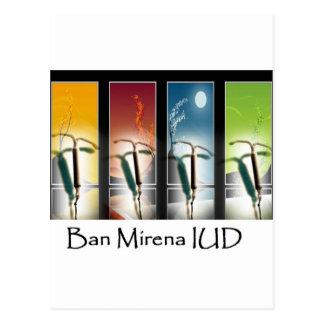 Ban Mirena IUD-Four Seasons Post Cards