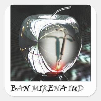 Ban Mirena IUD Sticker