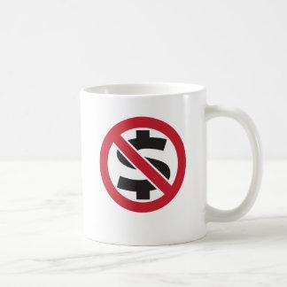 Ban money coffee mug