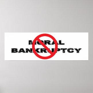 Ban Moral Bankruptcy Poster