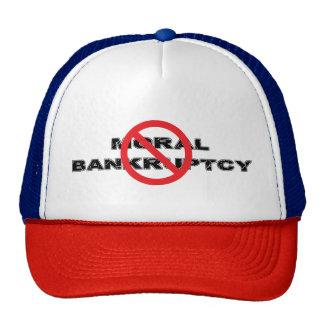 Ban Moral Bankruptcy Trucker Hat