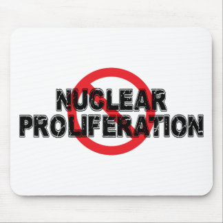 Ban Nuclear Proliferation Mouse Pad
