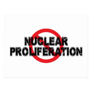 Ban Nuclear Proliferation Postcard