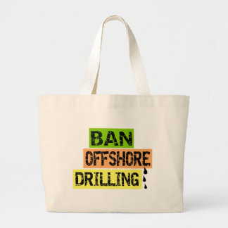 BAN OFFSHORE DRILLING TOTE BAGS