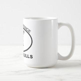 BAN PITBULL IGNORANCE NOT PITBULL COFFEE MUG