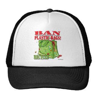 BAN... PLASTIC BAGS! TRUCKER HAT