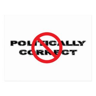 Ban Politically Correct Postcard