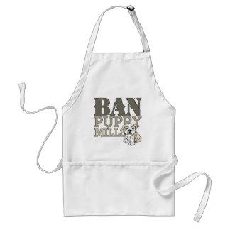 Ban Puppy Mills Adult Apron