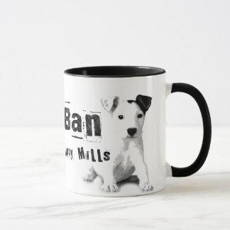 Ban Puppy Mills Animal Rights Mug