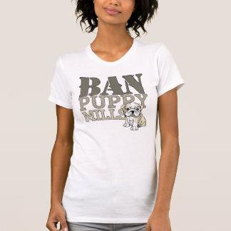 Ban Puppy Mills T Shirts