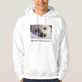 Ban Seal Hunting Forever Wildlife Supporter Hoodie