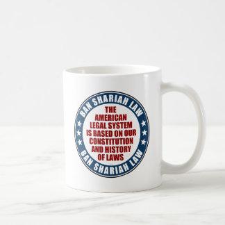 Ban Shariah Law Coffee Mug